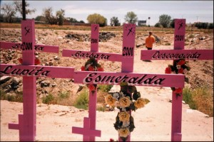 Juarez murders pink crosses