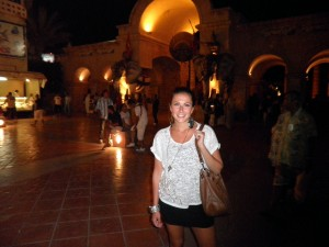 me in Tunisia