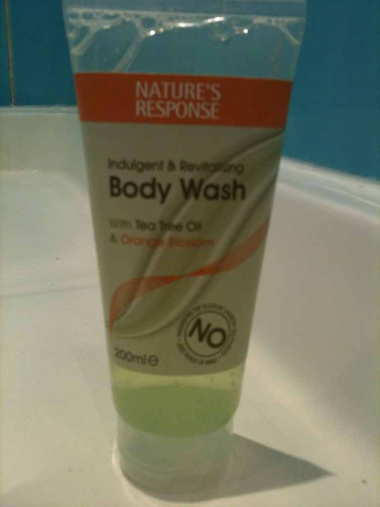 Nature's Response body wash
