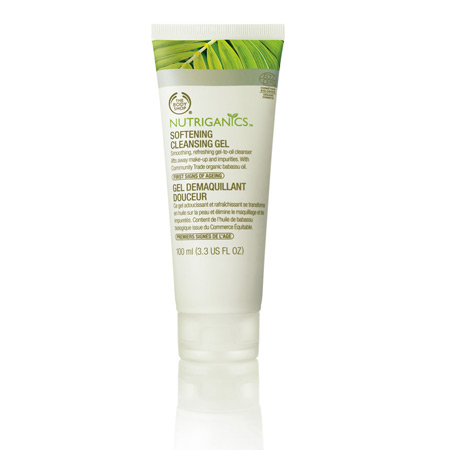 bodyshop nutriganics cleanser