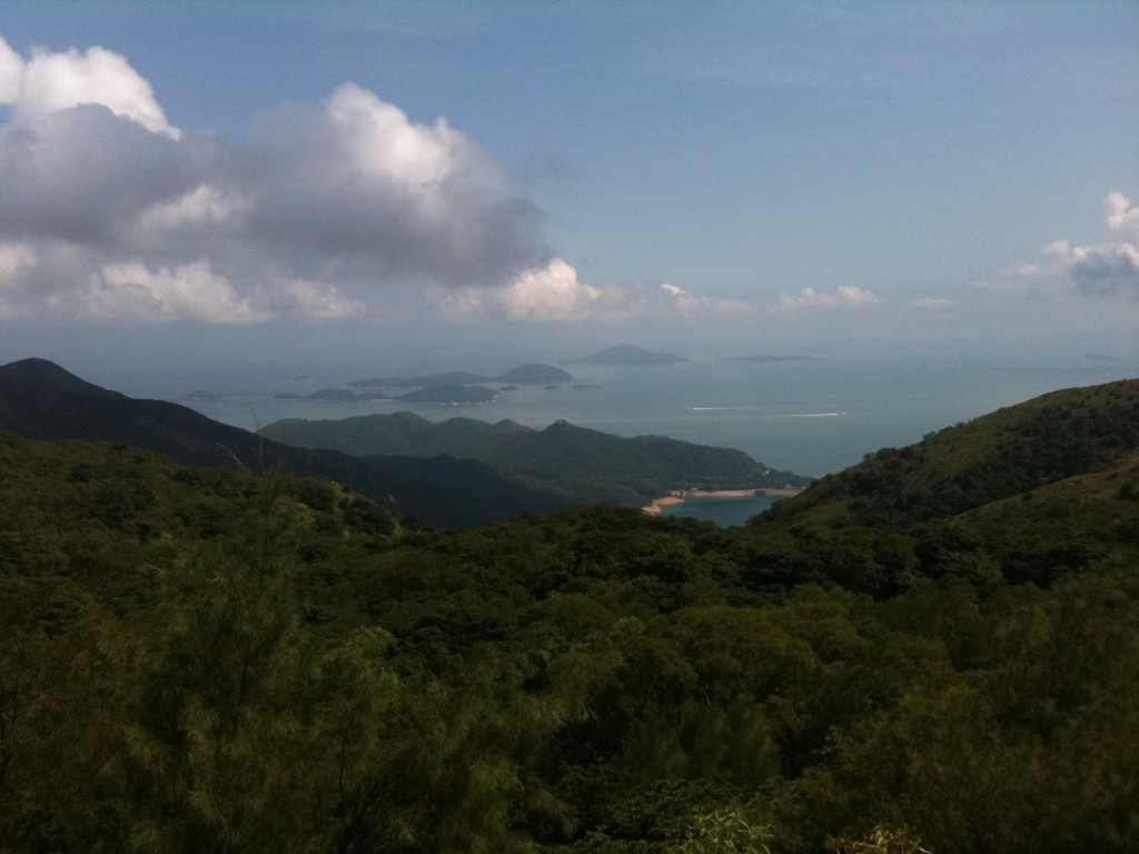 View from the top of Big Buddha mountain