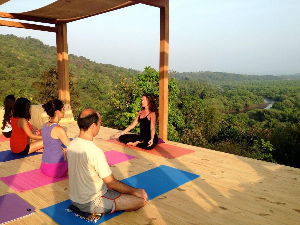 Chaya yoga retreat goa annabel jones