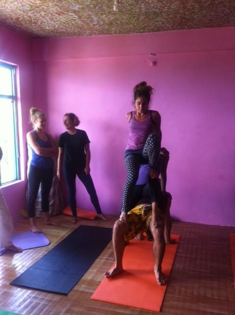 Acro Yoga Dharamsala