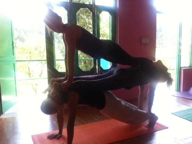 Acro Yoga Sophia La Pastina