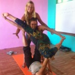 AcroYoga workshop Dharamsala