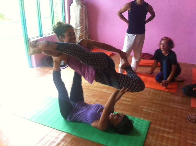 Acro Yoga moves