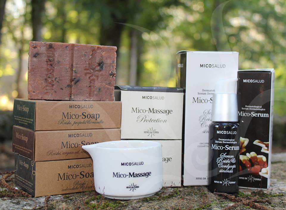 Hifas de Terra healing mushroom products