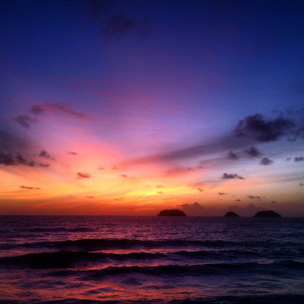 amazing sunset Koh Chang, Thailand