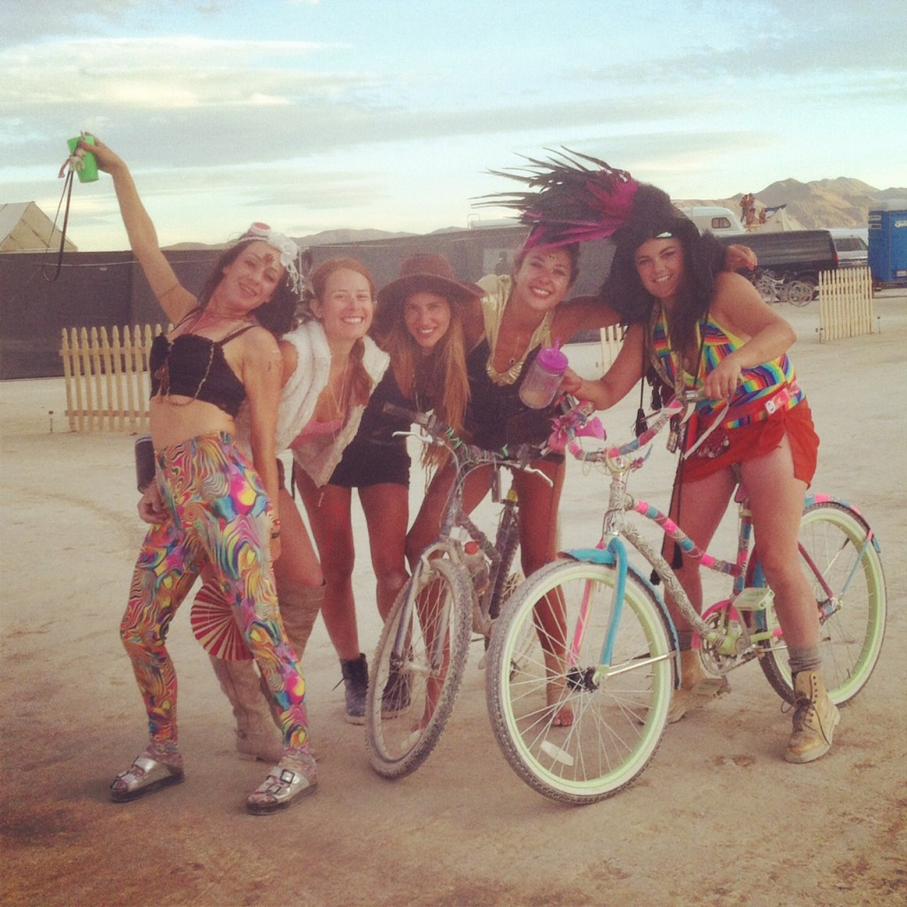 Burning Man 2014 friends