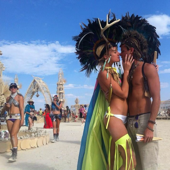 Burning Man 2014 love