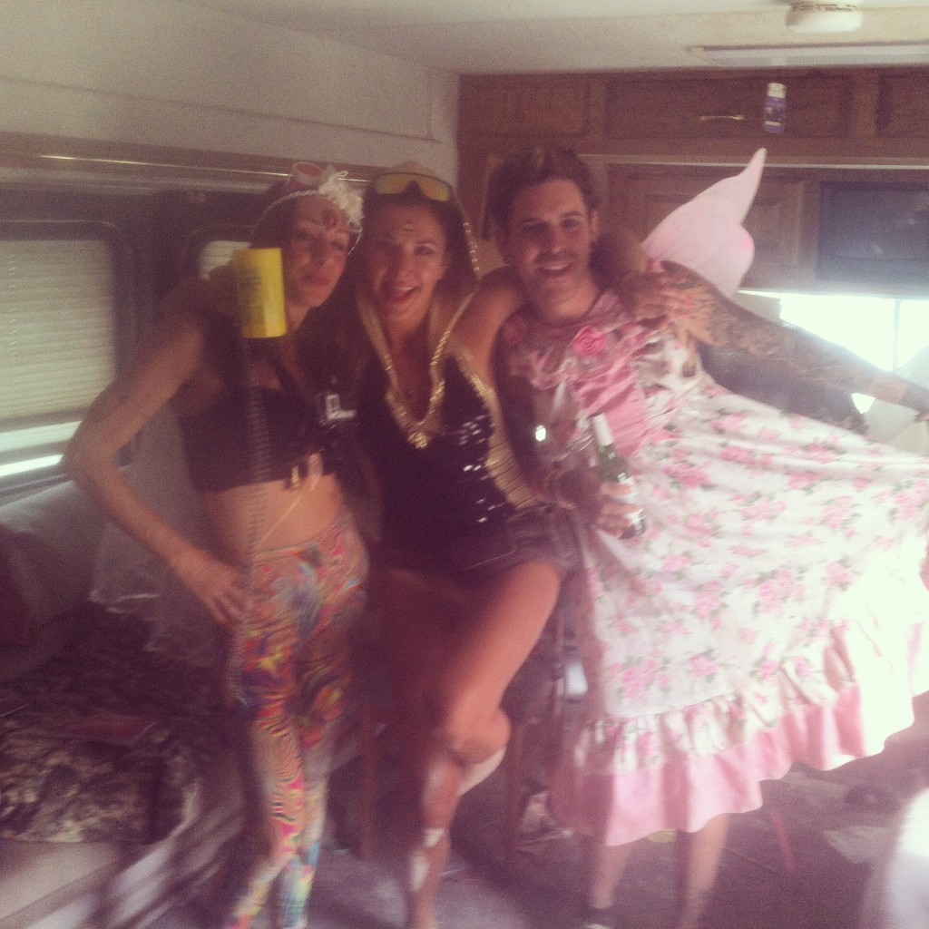 Burning Man RV life