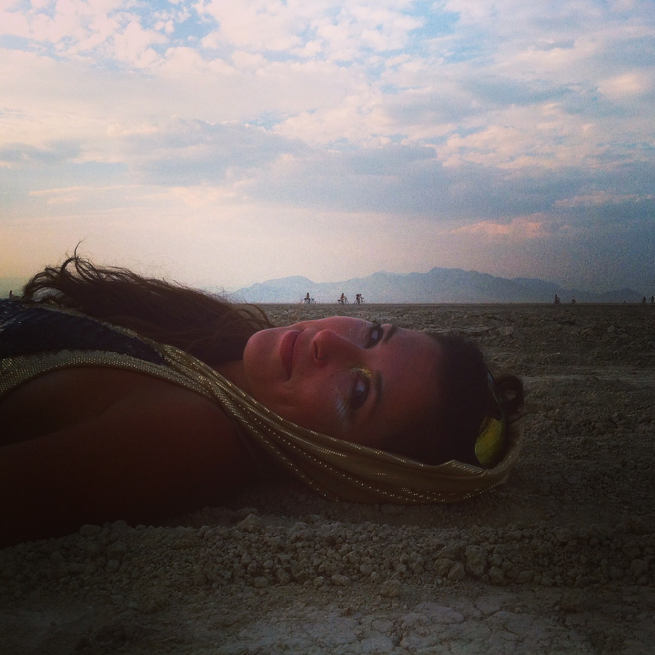 Burning Man Healing Beauty