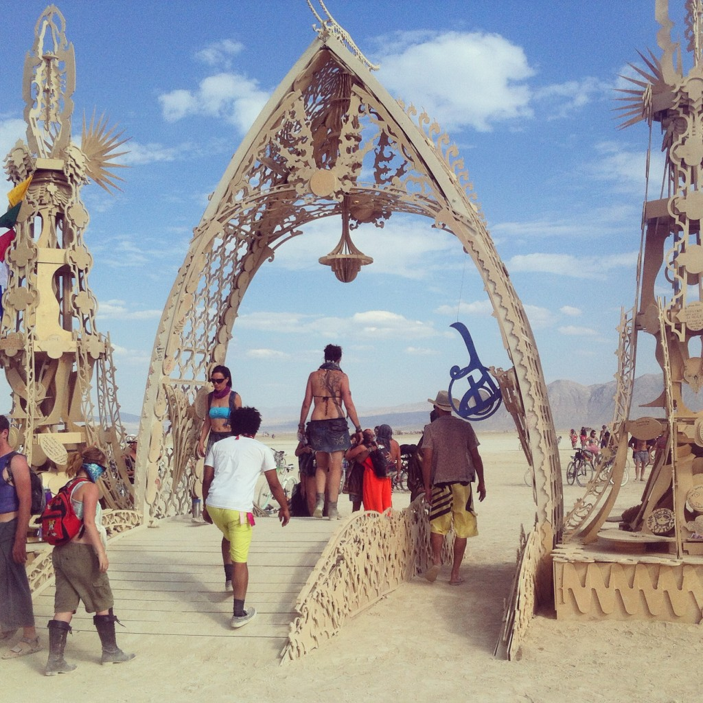 Burning Man Temple 2014