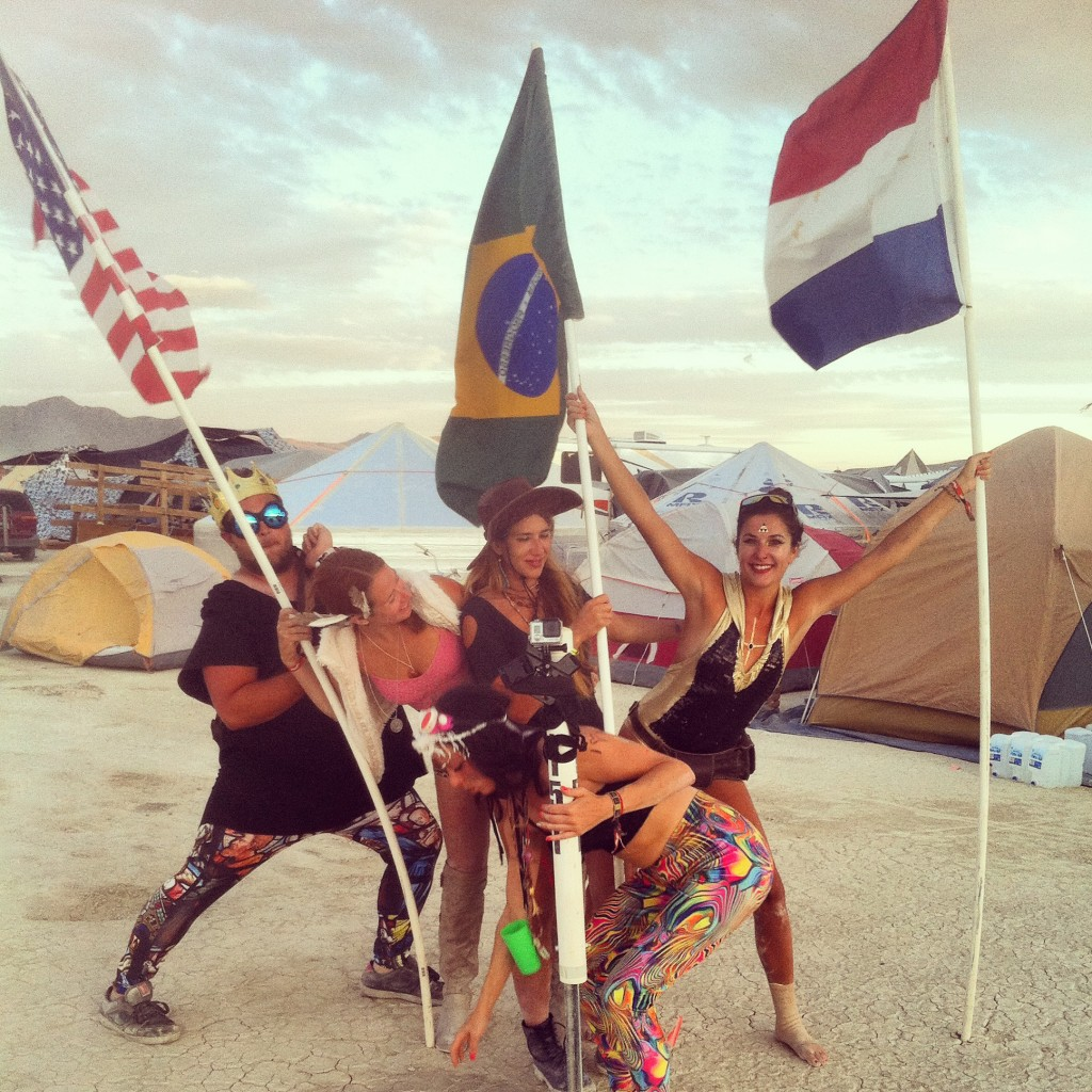 Burning Man family