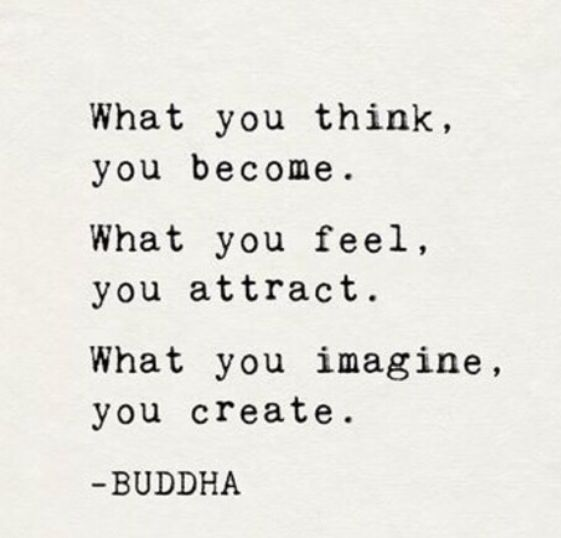 Buddha - what you think you become