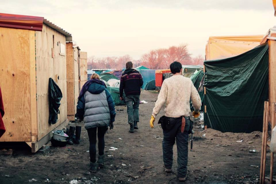 Refugee Camp Volunteers Calais