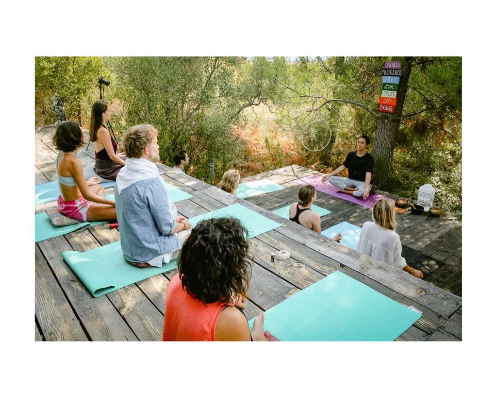 Yoga and Meditation at Merkaba